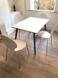 Lewis Kitchen Furniture John Lewis Luna Kitchen Table U0026 4 Matching Dining Chairs In