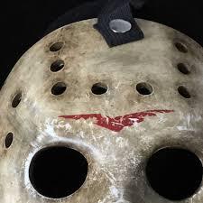 auz jason hockey mask 2009 remake screen accurate replica