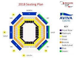 rogers center floor plan maps