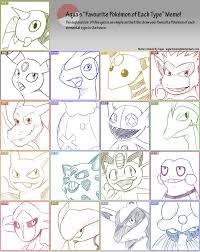 Pokemon Type Meme - aqua s pokemon type meme by demonoflight on deviantart