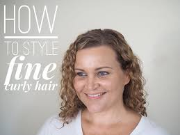 short haircusts for fine sllightly wavy hair how to style fine curly hair hair romance