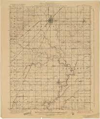 Illinois Cities Map by