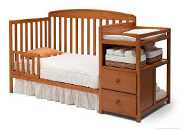 Changing Crib To Toddler Bed Royal Convertible Crib N Changer Delta Children