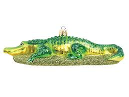 alligator ornaments rainforest islands ferry