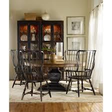 hooker furniture sanctuary two door thin display cabinet ebony