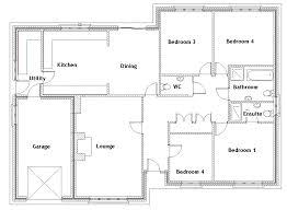 4 bedroom 1 house plans house plans 4 bedroom 3 bath 1 nrtradiant com