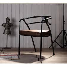 chaise m tal industriel chaise metal et cuir fabulous chaise en fer et cuir with chaise