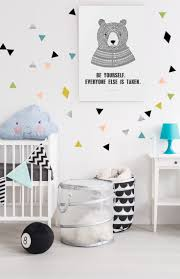 best 25 multicoloured wall stickers ideas on pinterest pOm le bonhomme multicoloured triangles wall stickers 15