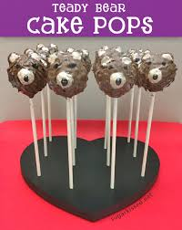 how to make easy teddy bear cake pops