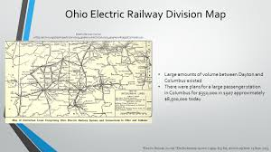 Ohio Railroad Map by Analysis Of Electric Trains In Columbus Ohio Ppt Download
