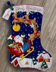 bucilla christmas bucilla christmas 28 jumbo felt kit 86740 santa
