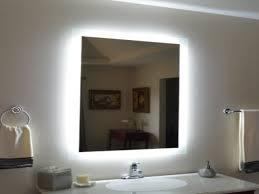 lighted bathroom wall mirror bathroom color amazing lighted vanity mirror wall mount mounted