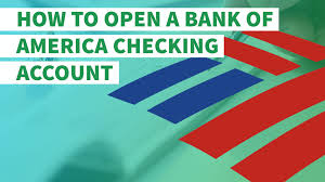 Bank Of America Change Card Design How To Open A Bank Of America Checking Account Gobankingrates