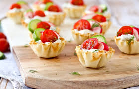 spring herb cream cheese appetizer cups rachel cooks