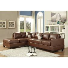 3 Piece Sectional Sofa With Chaise by Furniture Microfiber Chaise Sectional Reverse Sectional Sofa