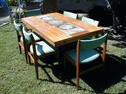 tile top dining room tables tile top patio dining table item for sale at tile dining table tile
