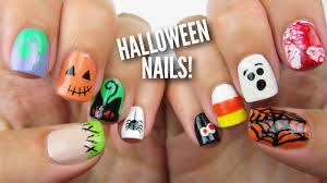 cute halloween nails 10 halloween nail art designs the ultimate guide 2 youtube
