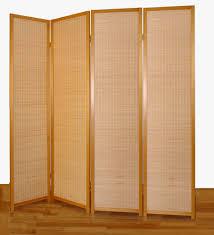 nature wood room divider 4 panel u2013 room dividers uk
