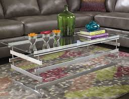 Chrome And Glass Coffee Table Coffee Table Modern Chrome Amp Glass Coffee Table Furniture