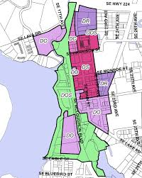 Dc Zoning Map Downtown Code Update City Of Milwaukie Oregon Official Website