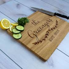 personalised cutting boards monogrammed cutting boards custommade