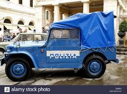police jeep fiat campagnola ar 59 jeep italian police 1960 stock photo