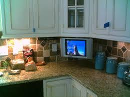 kitchen stunning under cabinet tv for kitchen clarus under