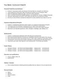 Hobbies And Interests On Resume Examples by Nice Resume Examples