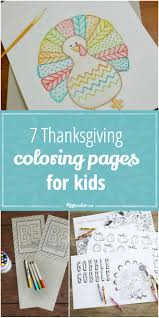 7 free thanksgiving coloring pages for kids via tipjunkie