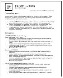 cover letter analyst resume examples billing analyst resume