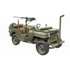 land rover italeri italeri willy u0027s jeep met m2 machinegeweer modelbouw nl