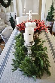 Rustic Christmas Centerpieces - how to frugally u0026 quickly decorate for christmas liz marie blog