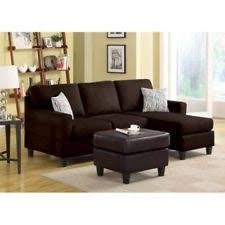Sofa With Reversible Chaise Lounge by Black Leather Sectional Sofa W Reversible Chaise Lounge Living