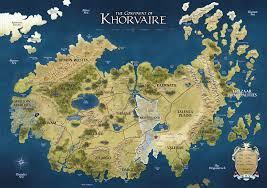 Pathfinder World Map by Khorvaire Eberron Wiki Fandom Powered By Wikia