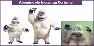 abominable snowman costume abominable snowman costume a diy guide savvy