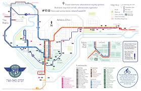 Columbus Ohio Maps by System Map And Schedules U2013www Athenstransit Org Athens Ohio