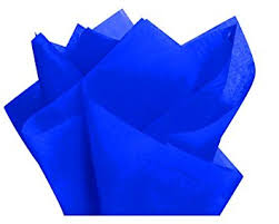 gift wrap tissue paper cakesupplyshop packaged bulk royal blue gift wrap pom