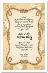 pirate party invitations kid u0027s pirate birthday party invitations