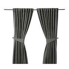 Where To Buy Curtain Tie Backs Blekviva Curtains With Tie Backs 1 Pair Ikea