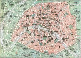 Paris France On Map by Download Map Paris France Major Tourist Attractions Maps