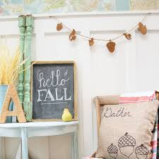 simple diy wooden fall woodland banner the happy housie