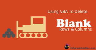 remove blank rows u0026 columns with this vba macro u2014 the spreadsheet guru