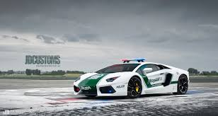 lexus lfa replica racing thei aventador dubai police replica on a closed airfield