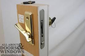 Patio Door Locks Hardware Furniture Patio Door Locks And Handles Marvelous Sliding Lock