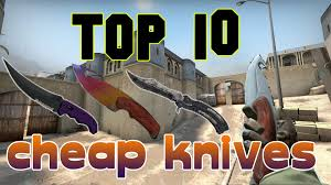 cs go top 10 best knives under 100 u20ac youtube