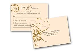 wedding card exles wedding invitations simple cheap wedding invitations and rsvp