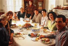 Thanksgiving Dinner Table by Drama At Holiday Table It U0027s Not About The Food Chicago Tribune