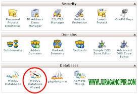 cara membuat database baru mysql cara membuat database website di cpanel shared hosting