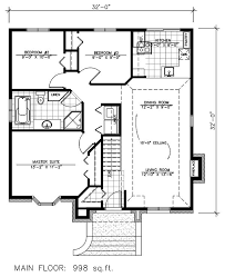 surprising 1 32x40 single story house plans 2 small homeca