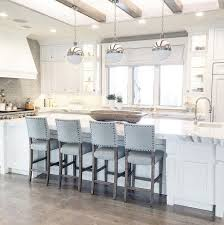 island chairs for kitchen kitchen island with three hicks pendants caitlin creer interiors